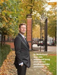Interview met Jan Maarten Slagter (VEB): 'Totale transparatie bestaat niet'